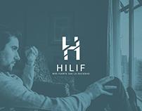 Hilif logo design
