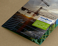 Brochure y ayudaventas para la marca Permaflex