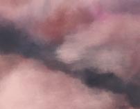 Teste de sombreado e pincéis utilizando nuvens