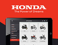 Aplicativo Honda Motors