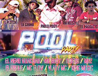 Flyer Promocional: Pool Party