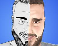 Auto retrato arte digital