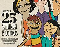 Cartel Seminario Niñez, Juventud y Migración