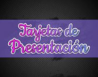 Tarjetas de Presentación (+20 Diseños)