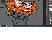 Pintura digital Viking