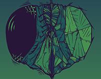 Lord Of Flies -Vector Illustration-