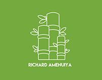 Massoterapeuta Richard Amenuiya.