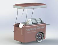 Gourmet cart