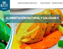 Hotel Biociti Website