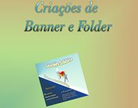 Criação de Banners e Folder