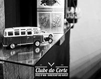Criação de Logotipo e Fotografia - Clube do Corte