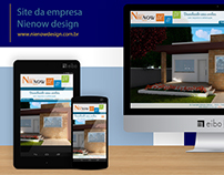 Site da empresa Nienow Design
