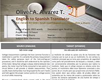 Sample Translation 1 (Safe meter usage)