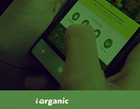 Interface responsiva - site iorganic