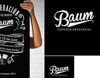 Inauguración Baum - Piezas Gráficas
