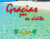 La Isla Restobar (banners, logo)