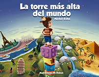 Ilustraciones de Portadas cuentos infantiles