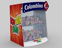 COLOMBINA / Candy display