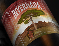 Russian Imperial Stout Invernada - Label Illustrated