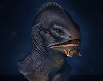 Criatura | Modelagem 3D