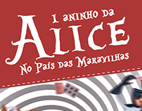 Convite Festa 1 ano - Alice