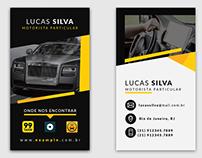 Cartão de visita para motorista | Business Card
