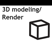 Renders (modelado y mapping)