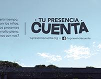 "Campaign "" Tu presencia cuenta"""