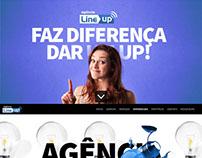 Website | Agência LineUp - Comunicação