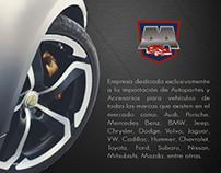 Autoparts.PE - Website y Página de Facebook