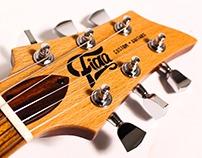 Identidad de Marca para FIGA Custom Guitars