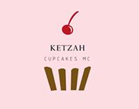 Isologo para KETZAH Cupcakes