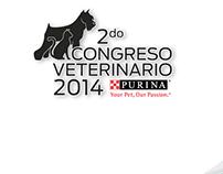 Adaptaciones gráficas Congreso Veterinario PURINA