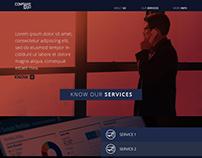 Business website (desktop)