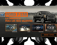 Ford F-150 – Yahoo Español – Billboard Expandable