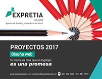 Diseño web 2017 - Expretia studio
