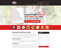 County Bail Bond Webpage