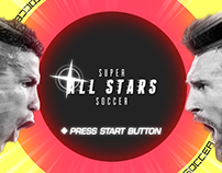 Super All Stars Soccer - World Cup 2018 Game