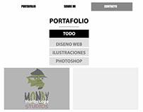 Página personal responsive 1366 x 720