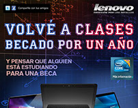 Lenovo - Promo Back to school - Febrero 2011