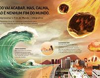 Ilustração para a série Como aproveitar o fim do mundo