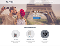 Website - Orei Travel / Accessories