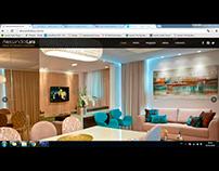 Site Alessandra Lara Design de Interiores e Arquitetura