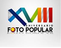 Logos para aniversario de Foto Popular