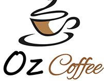 Propuestas LOGO OZ coffe