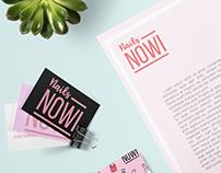 Nowi Nails │ Branding│ Esmaltado de Uñas profesional