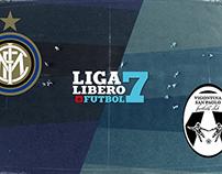Liga Líbero Fútbol - Inter (5) vs San Paolo (6)