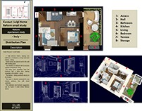 Reform Apartament Study in Milan - Italy / 1 - 2016