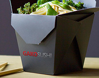 GakoSushi. Branding