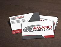 Branding Amaro Transportes